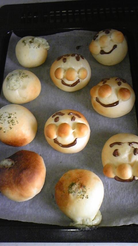 今日も我が家はパン工場